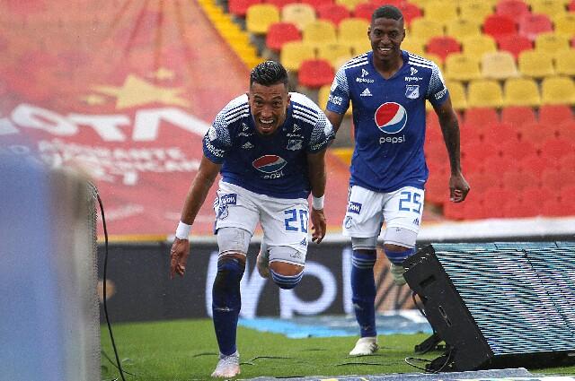 Millonarios contra Junior por la liga colombiana