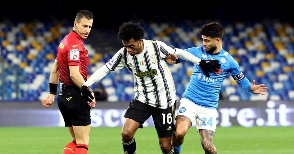 Juventus vs Nápoles: Juan Guillermo Cuadrado y David Ospina, cara a cara por un cupo en Champions