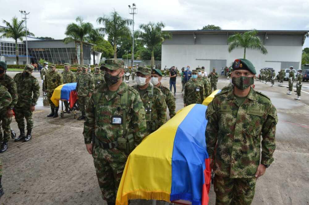 368175_Ceremonia militares muertos en emboscada. Foto: Cortesía