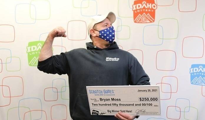 Bryan Moss, ganador de Lotería por sexta vez - 1 de febrero