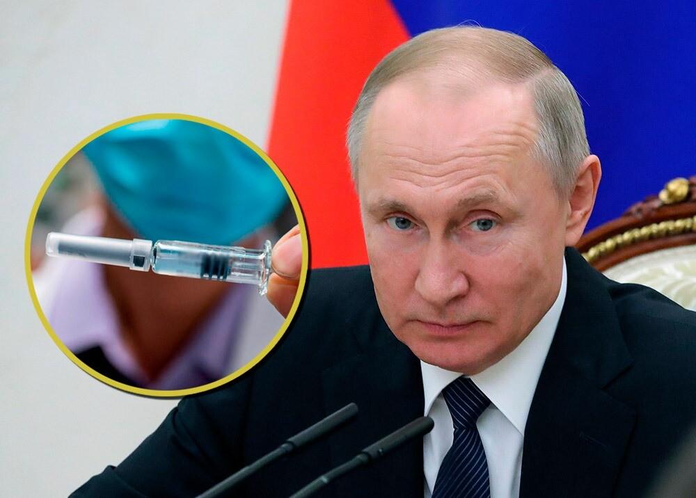 375639_Vladimir Putin - vacuna contra el COVID-19 // Fotos: AFP, imágenes de referencia