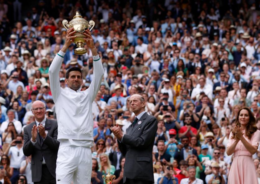 Novak Djokovic se coronó campeón de Wimbledon.