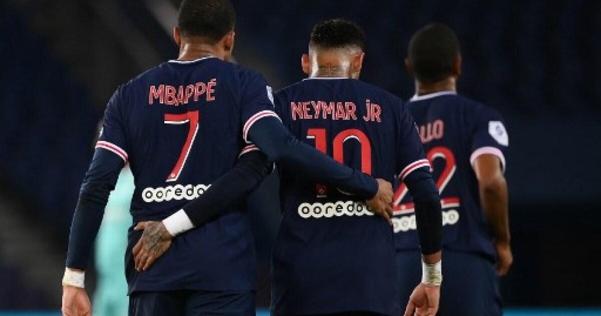 PSG 6 - Angers 1: Neymar y Kylian Mbappé encabezan el resurgir del equipo parisino en la liga