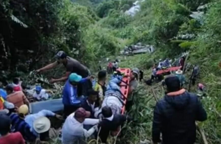 Accidente en Chaparral, Tolima.