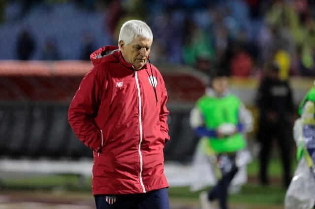 333392_Julio Comesaña, técnico del Junior de Barranquilla.