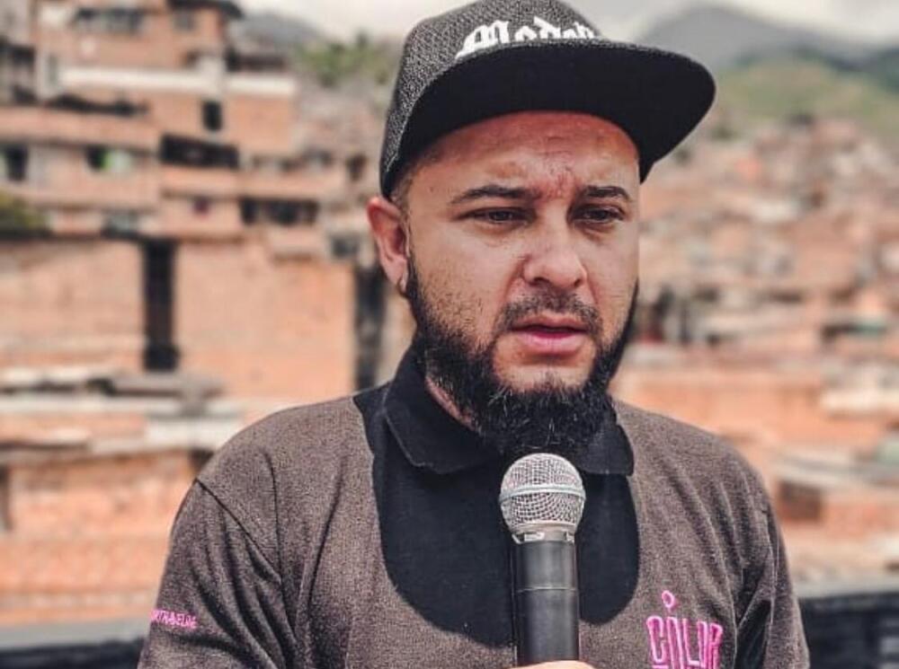 Kbala, líder social y cultural de la comuna 13 de Medellín