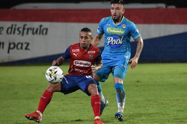 Jaguares contra Independiente Medellín, en la Liga colombiana