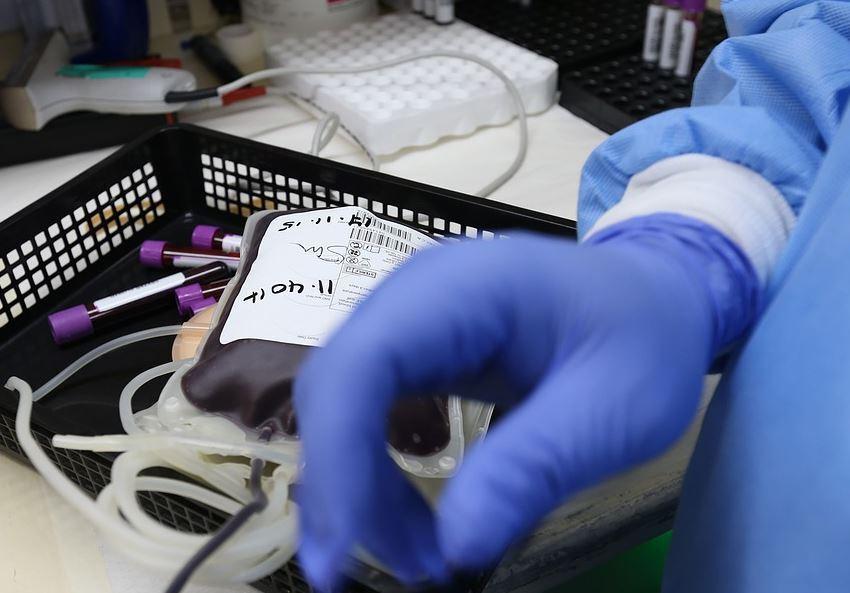 transfusión sangre contaminada en Reino Unido