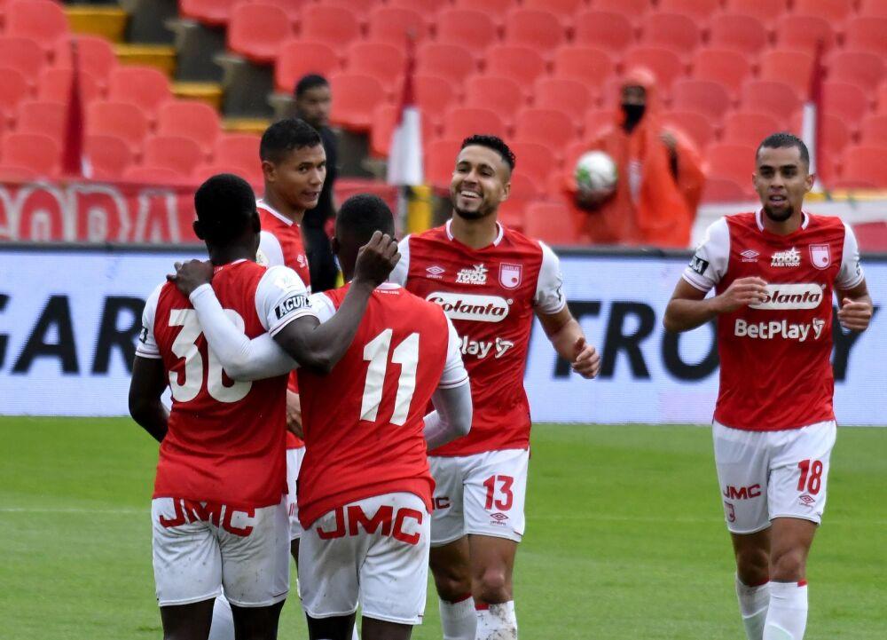 Jugadores de Independiente Santa Fe. Dimayor.jpeg