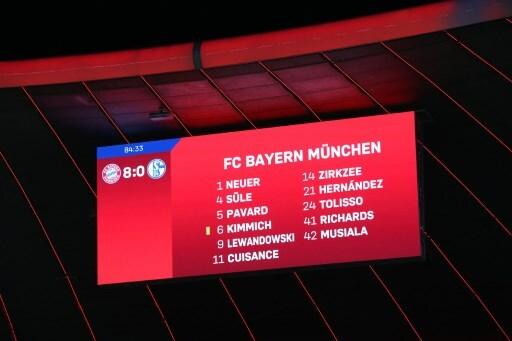Bayern 8 Schalke 0