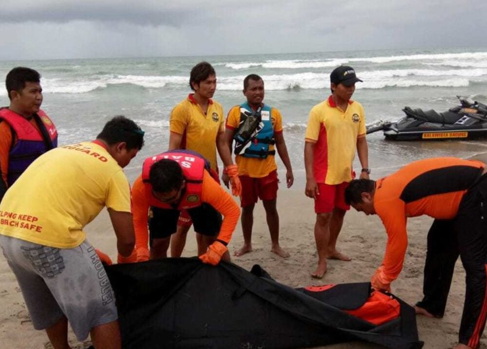 352158_BLU Radio. Confirman fallecimiento de colombiano desaparecido en playa de Bali. Foto: Basarnas Bali