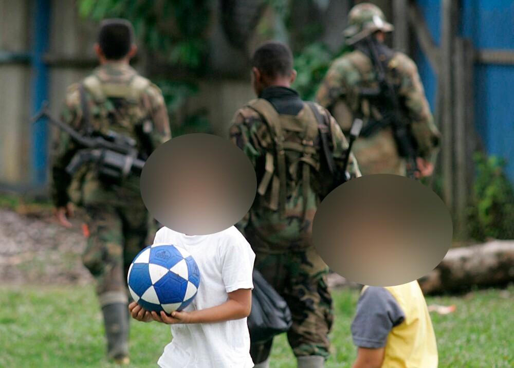 344391_BLU Radio. Reclutamiento de niños / Foto: AFP