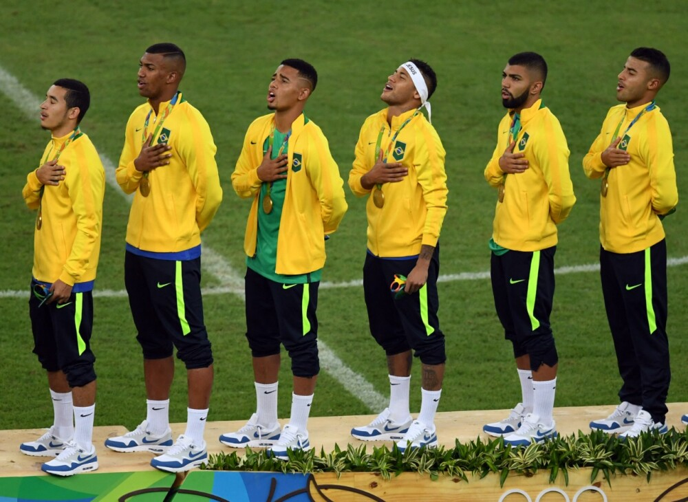 Selección Brasil campeona Olímpicos 2016 Foto AFP.jpeg