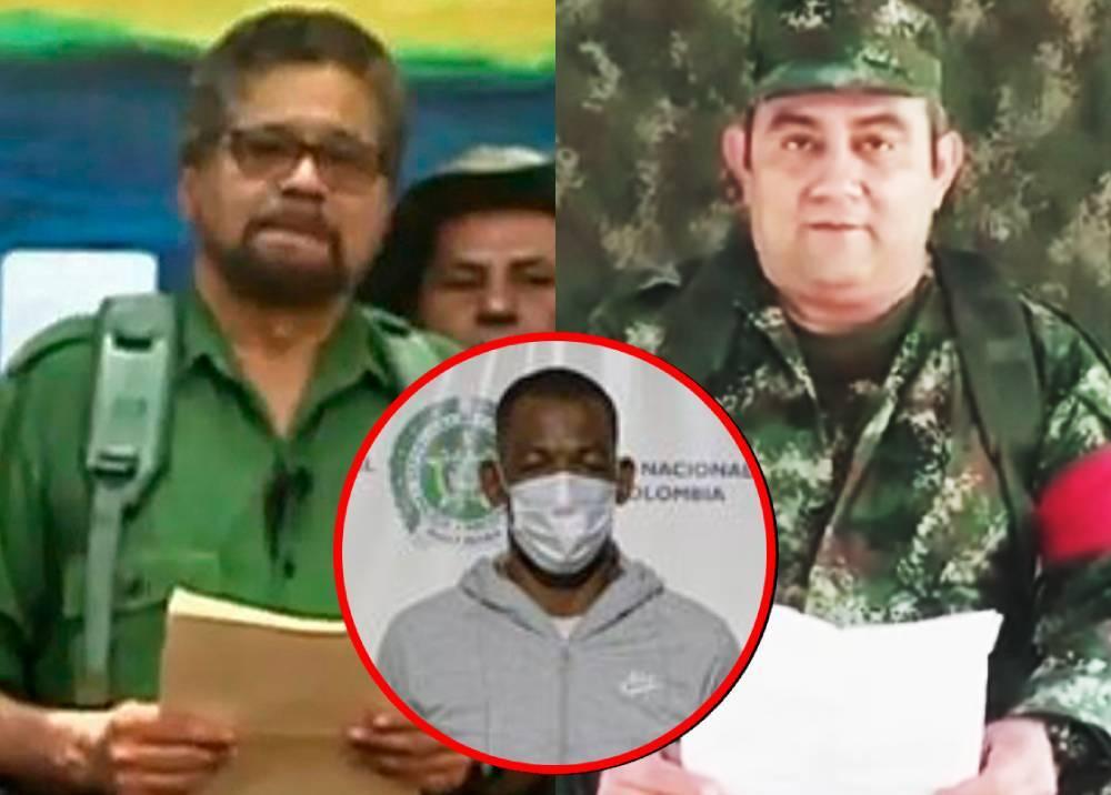 Alias 'Iván Márquez', 'Otoniel' y 'Robinson'