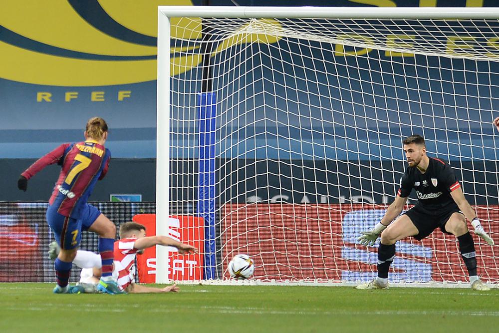 Antoine Griezmann, jugador del Barcelona. AFP.png