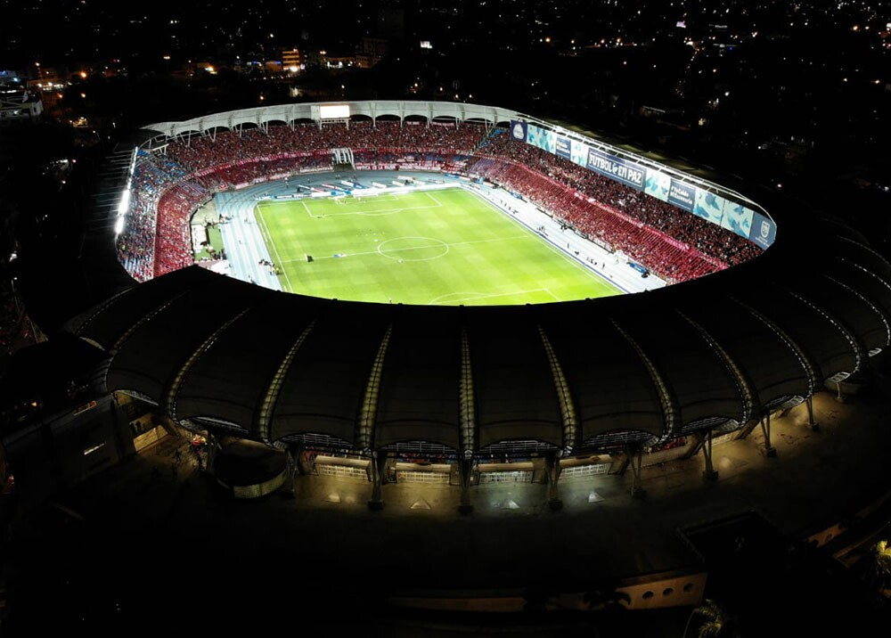 349731_BLU Radio. Estadio Pascual Guerrero // Foto: Tomada de Twitter @Dimayor