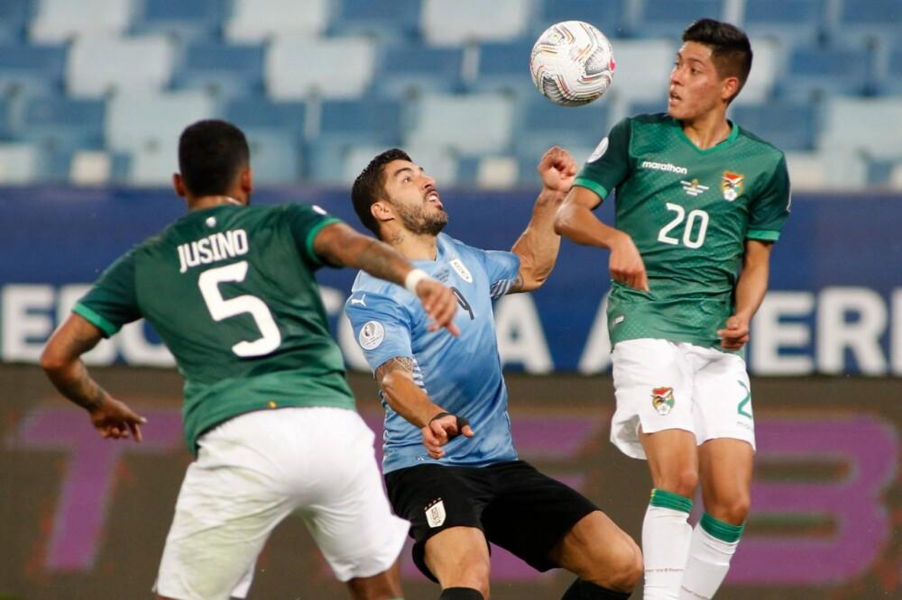 Selección Uruguay Bolivia AFP.