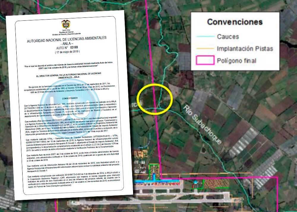 336391_BLU Radio // Frenada la ampliación de El Dorado // Fotos: ANI / Anla