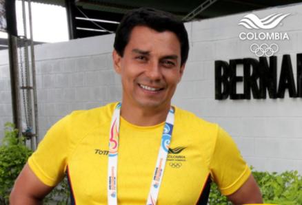 Bernardo Tobar Prado representará a Colombia en los Juegos Olímpicos de Tokio 2020.