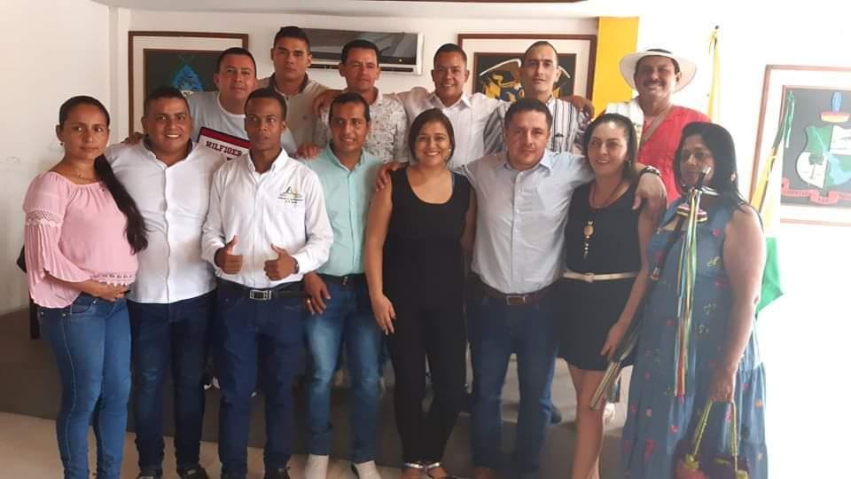 366444_Concejales de El Doncello, Caquetá. Foto: Cortesía