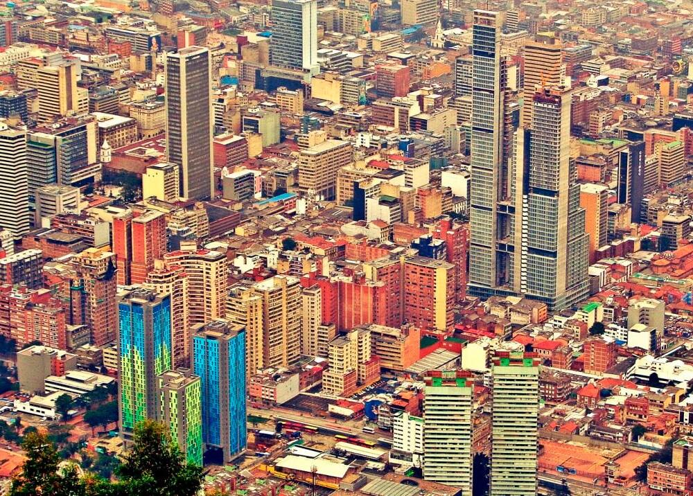 Impuesto predial, panorámica de Bogotá