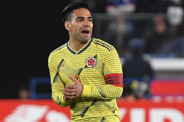 Radamel Falcao García, en la Selección Colombia