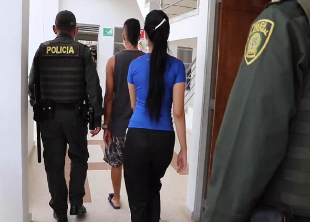 Novios acusados de asesinos de una mujer en Floridablanca