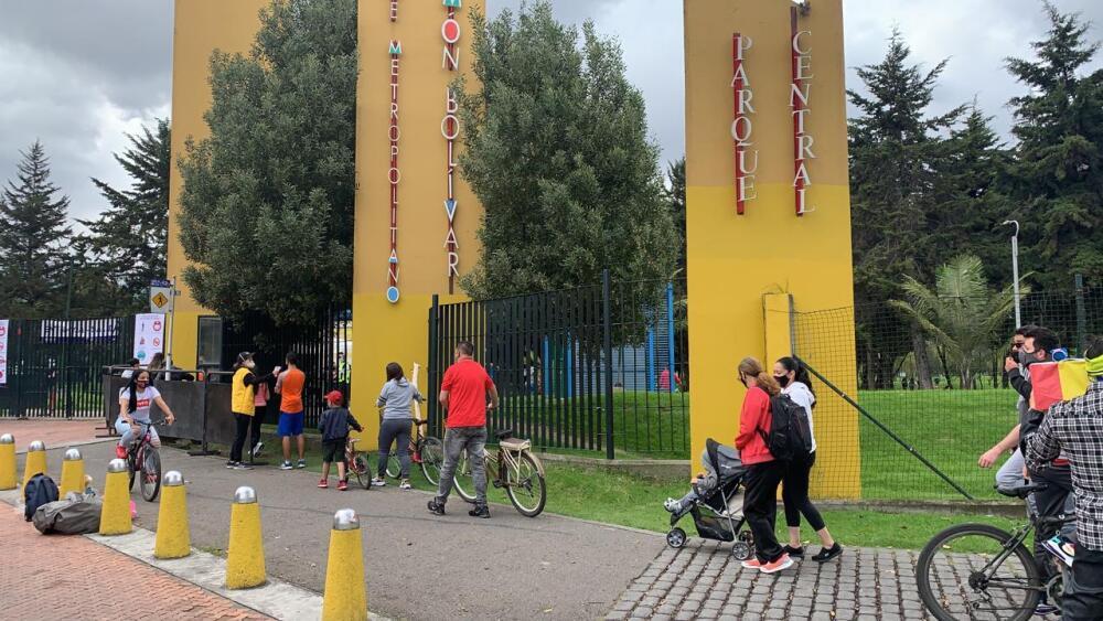 375990_BLU Radio. Parque Simón Bolívar