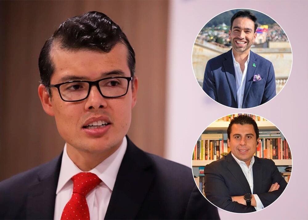 Mauricio Toro, Camilo Pabón y Juan Manuel Ramírez de BLU 4.0  Fotos suministradas.