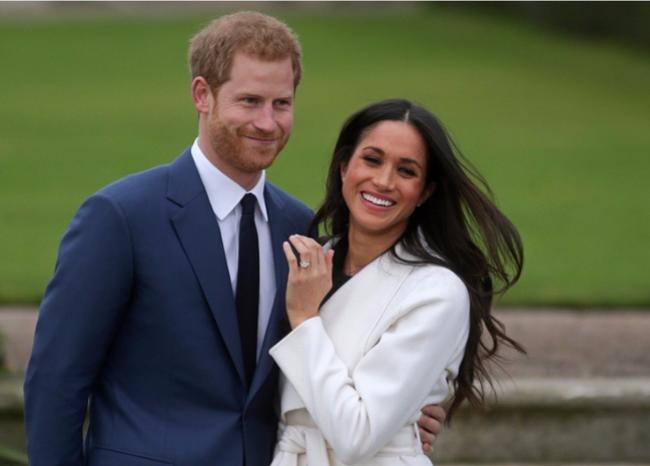 297894_BLU Radio. Príncipe Enrique de Inglaterra y Meghan Markle. Foto: AFP.