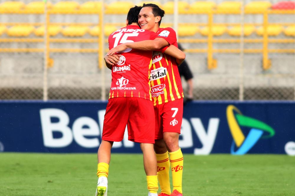 Jugadores del Deportivo Pereira. Colprensa.png