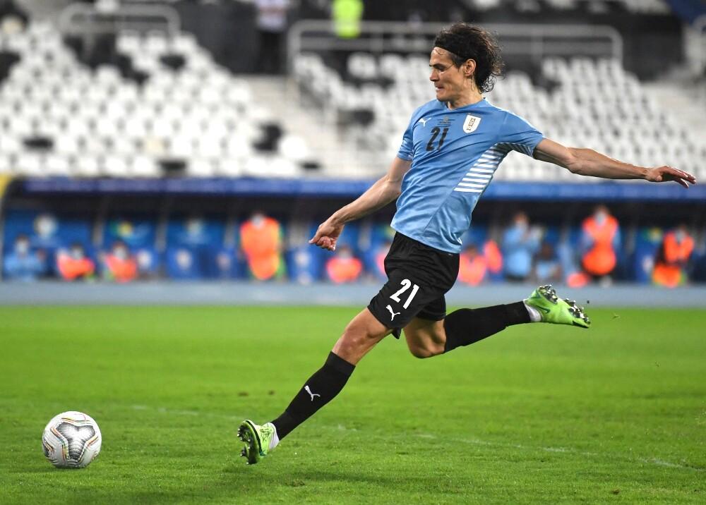 Edinson Cavani Uruguay AFP