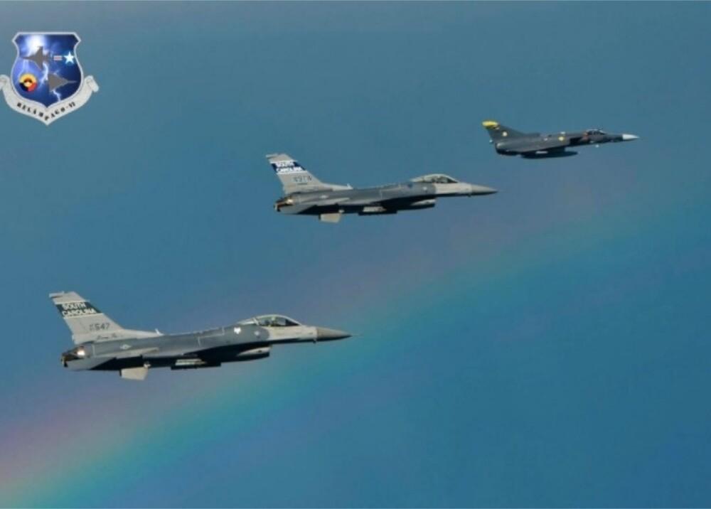 Aeronaves Fuerza Aérea Estados Unidos en Colombia Foto Twitter FuerzaAereaCol.jpg