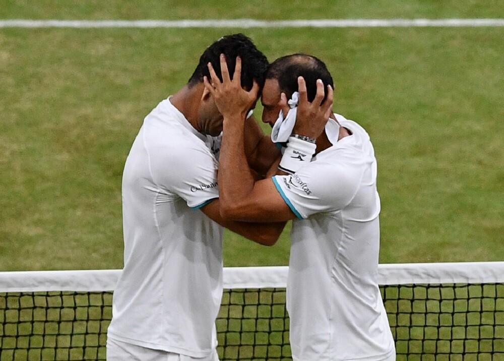 338783_BLU Radio. Juan Sebastián Cabal y Robert Farah / Foto: AFP
