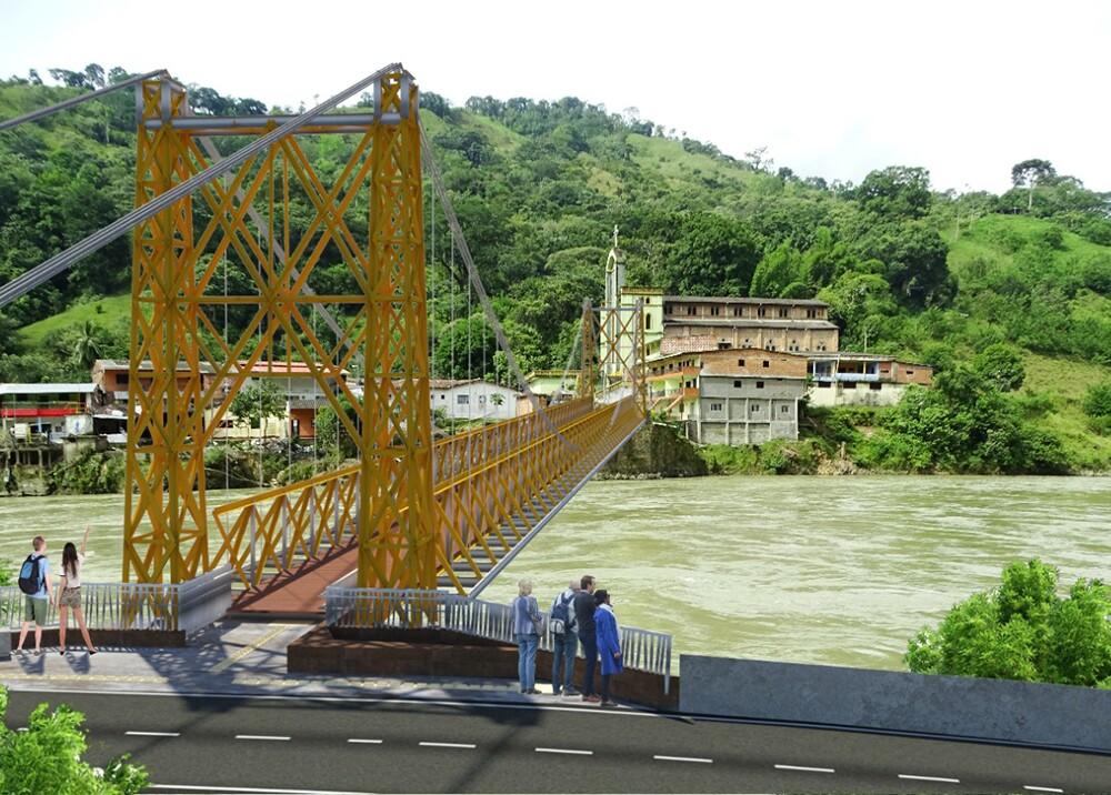 347901_BLU Radio. Avanza la reparación de puentes en Puerto Valdivia / Foto: EPM