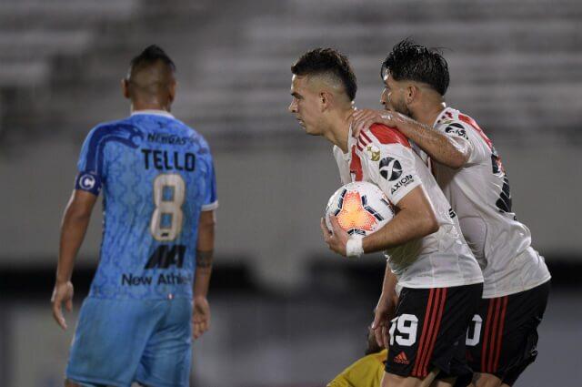 332679_Rafael Santos Borré, delantero River Plate