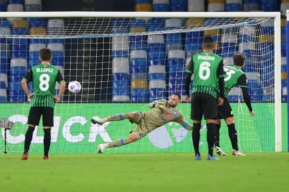 David Ospina, Napoli v US Sassuolo - Serie A