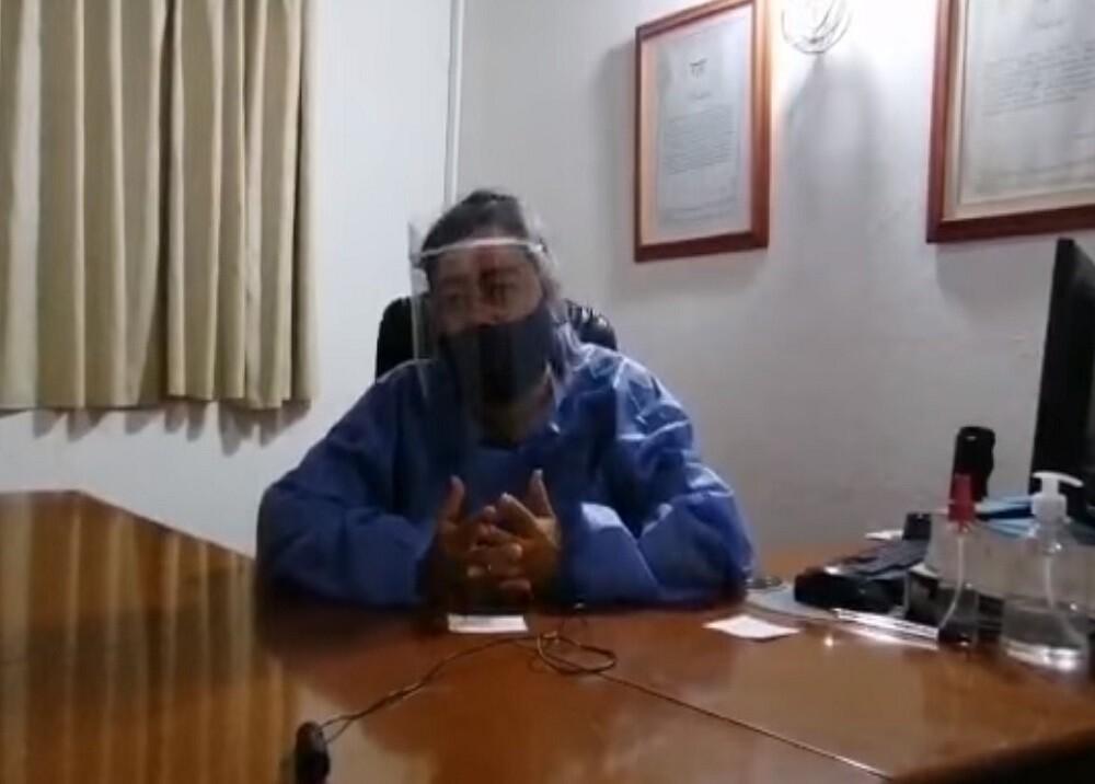 371174_BLU Radio. Médicos de Curití denuncian amenazas / Foto: captura de video