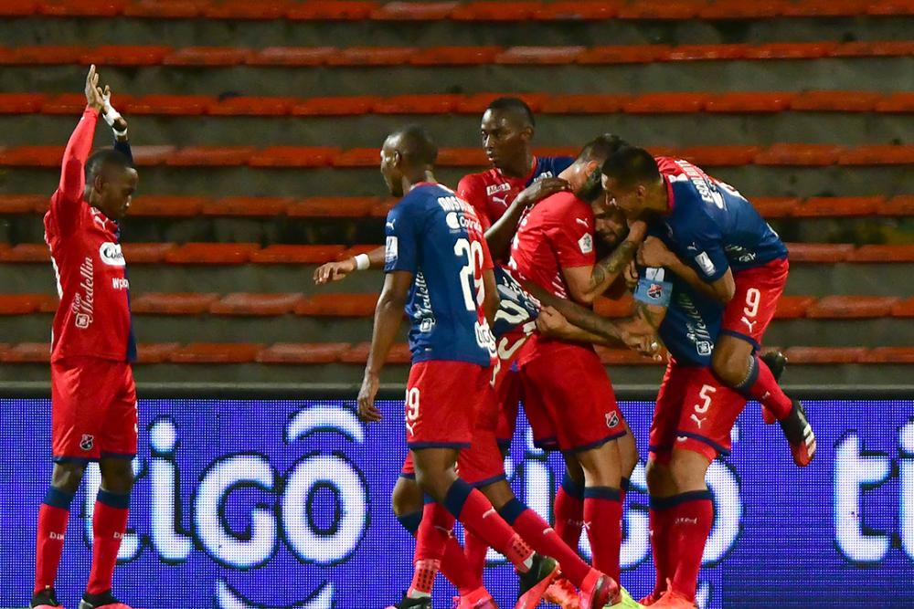 Jugadores de Independiente Medellín. Colprensa.png