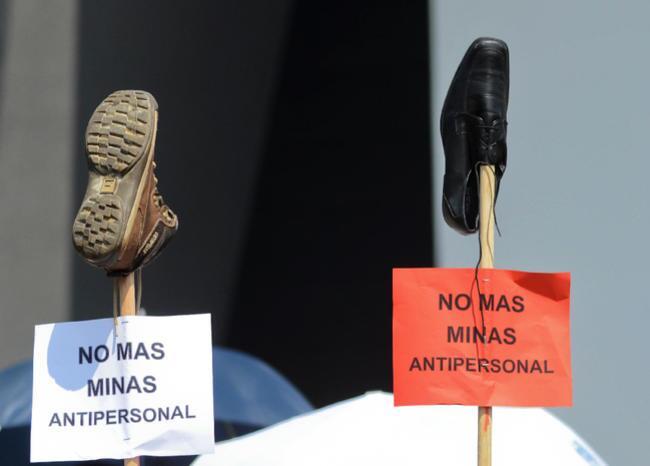 370664_Minas antipersonales. Foto: AFP