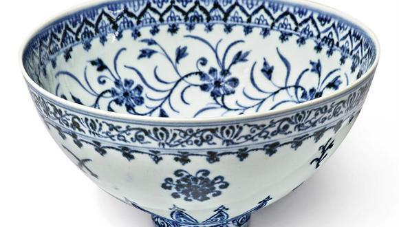 Tazón de porcelana
