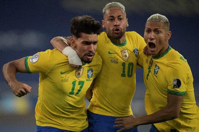 Brasil contra Chile