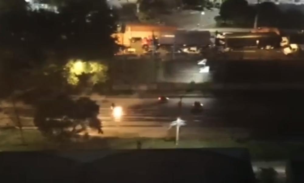 Atacan a policía en Bello, Antioquia.png