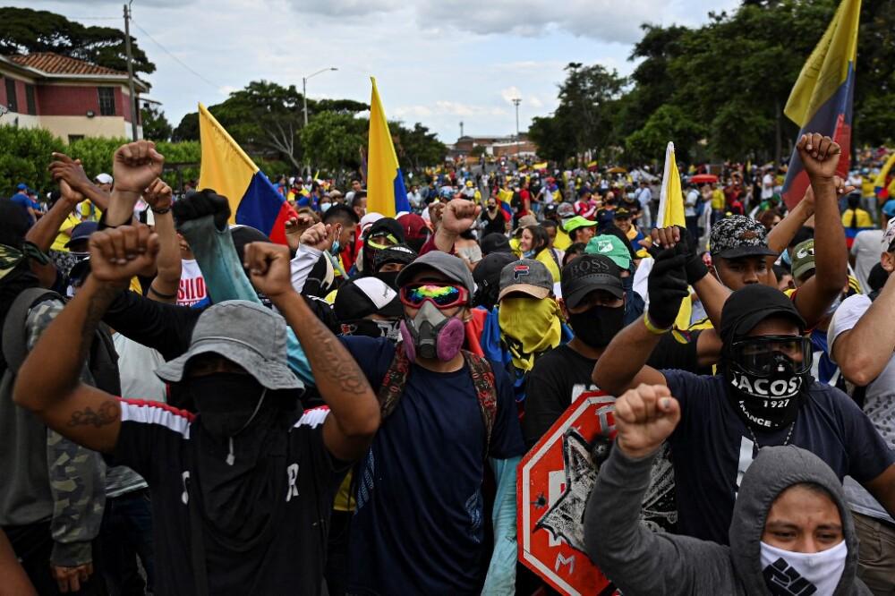 Nueva jornada de paro nacional en Colombia
