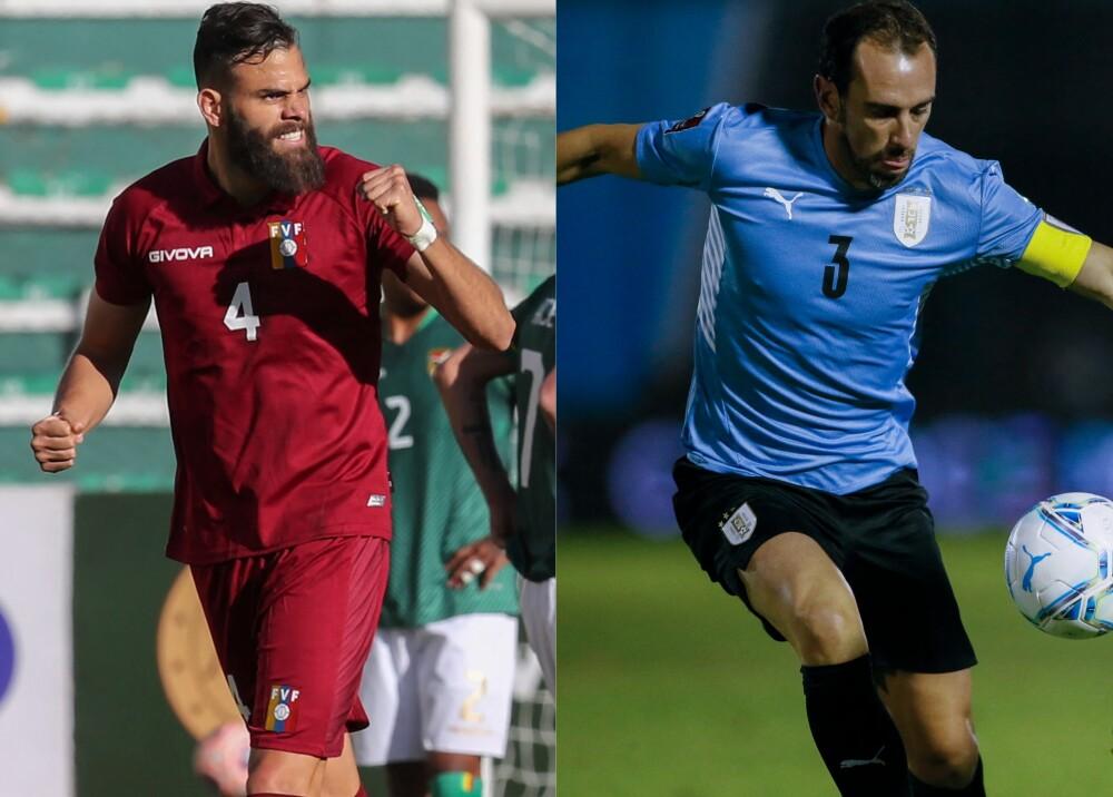 Selección de Venezuela y Uruguay Foto AFP.jpg