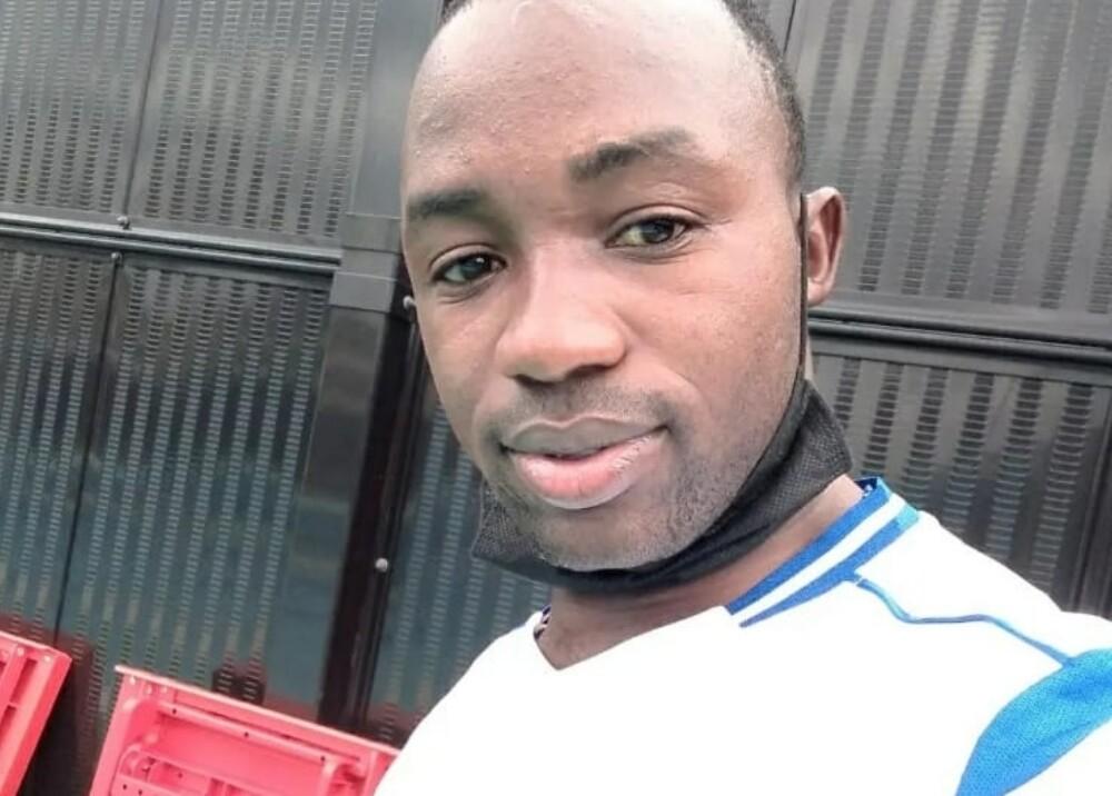 Julius Ssekitoleko deportista ugandes Foto Instagram.