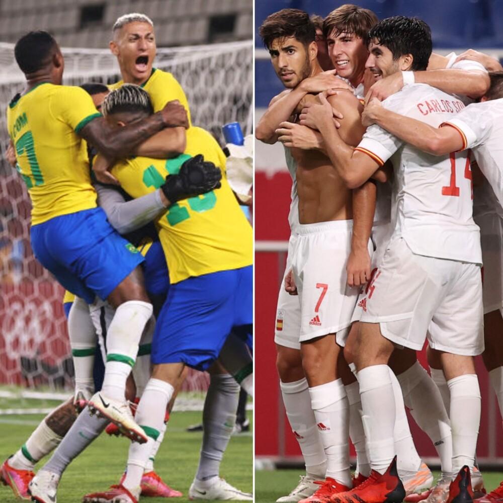 Brasil y España jugarán la final en los Juegos Olímpicos..jpg