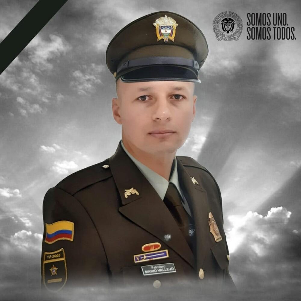 Patrullero Mario Vallejo