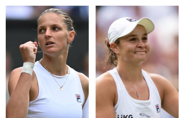 Karolina Pliskova y Ashleigh Barty jugarán la final de Wimbledon.