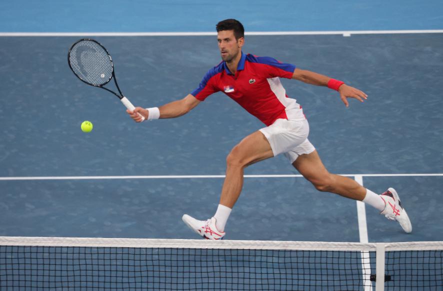 Novak Djokovic es el gran favorito del tenis para ganar el oro en los Juegos Olímpicos.